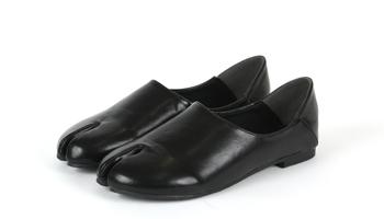 足袋デザインバブーシュ/足袋パンプス