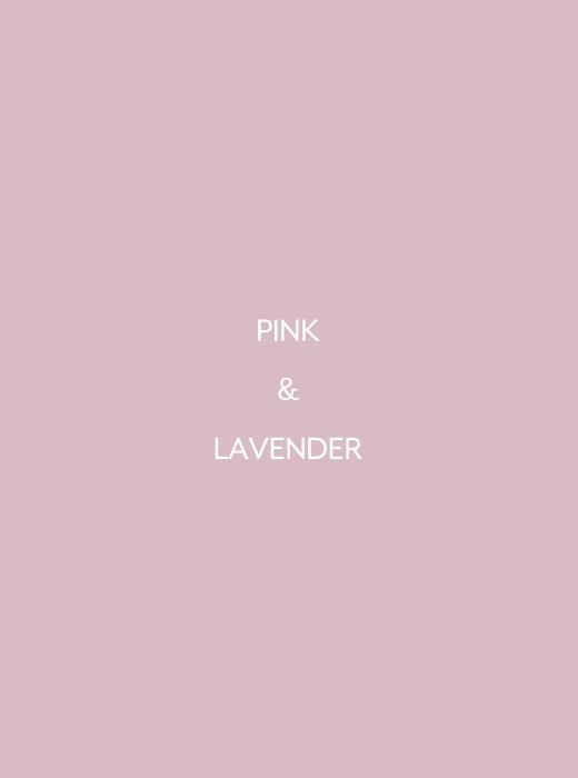 くすみピンク&ラベンダー