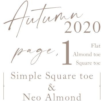 01.Simple Square toe & neo almond