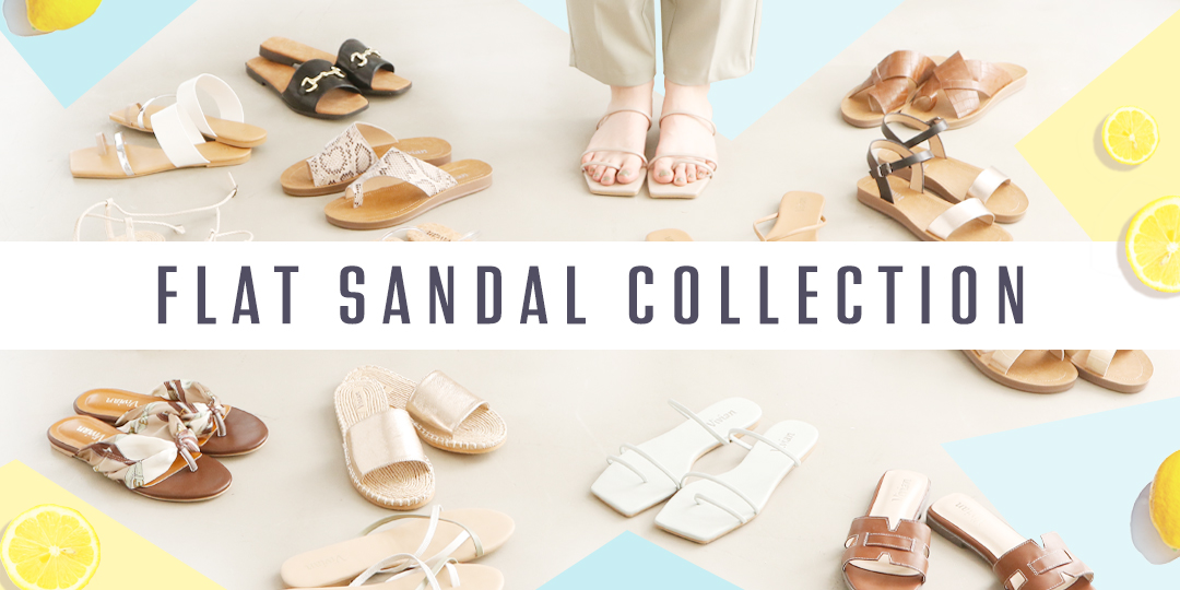 FLAT SANDAL COLLECTION