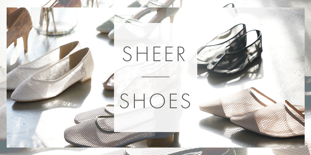 sheer shoes